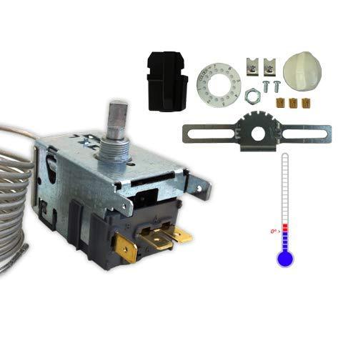 DOJA Industrial | Termostato DANFOSS nº8 Botelleros | B=200 cm (-8/-1|+6/+11)