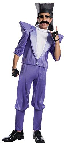 Rubie's Costume Boys Despicable Me 3 Balthazar Bratt Villain Costume, Large, Multicolor