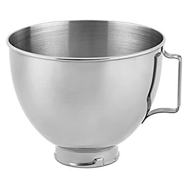 KitchenAid Stainless Steel Bowl K45SBWH, 4.5-Quart