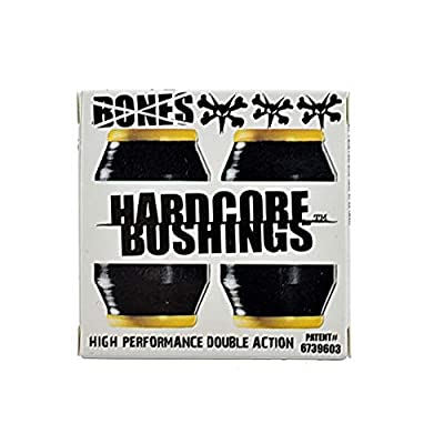 Bones Hardcore medium 91a black 4er Set Lenkgummis