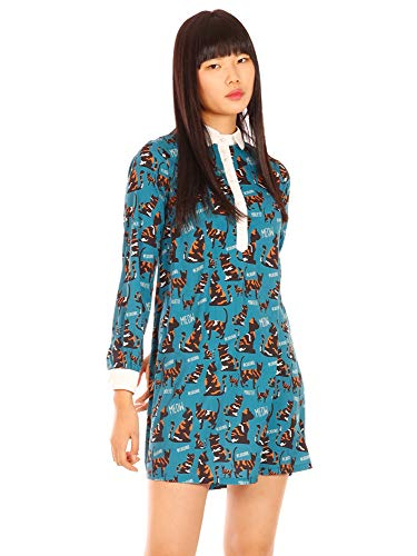 Minueto dames blouse-jurk Cat Dress