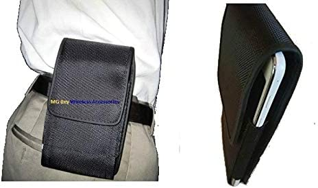 Mgbca Premium Canvas Nylon Extended Heavy Duty NXT XX Large Horizontal Vertical Black Holster product image