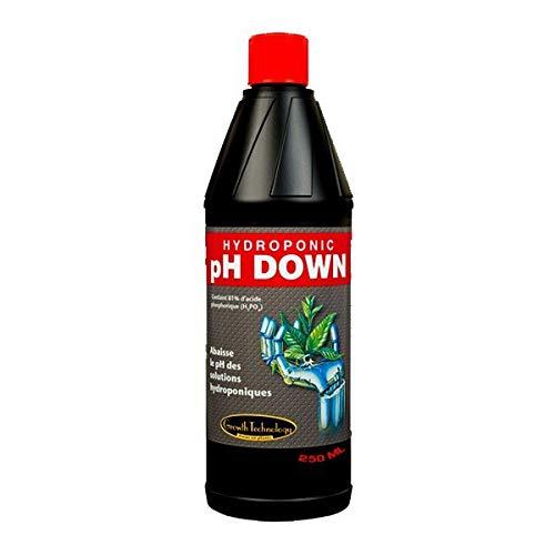 pH-Regulierender PH Down Dünger, 250ml, Growth Technology