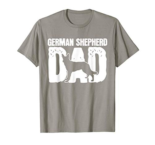 German Shepherd Dad Dog Lover Father's Day T-Shirt