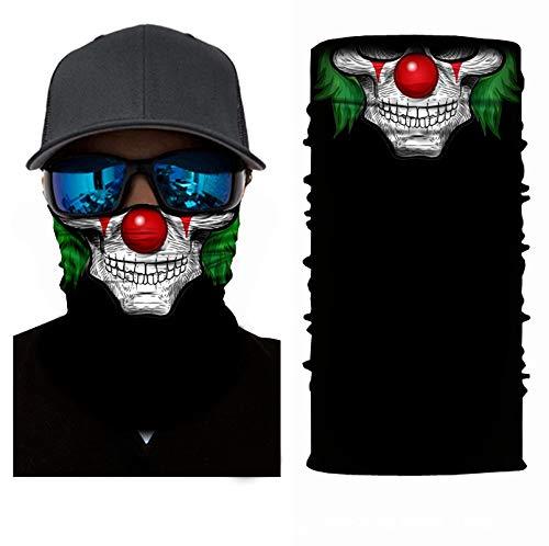 KGDUYH Beau Visage Bandana Masque Tube élastique Magique écharpe Multifonctionnel Bandeaux avec résistance UV for Les Hommes Convient Femmes pour Les Femmes, Les Hommes (Color : P, Size : 50cm)