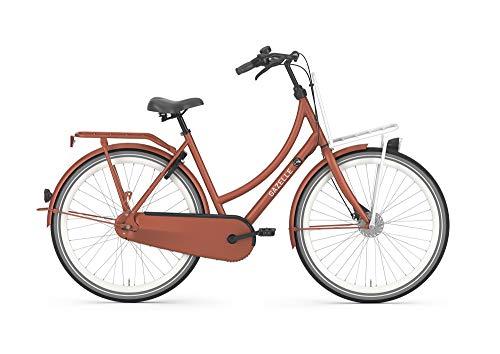 Gazelle PUUR_NL Damenfahrrad Citybike 7 Gang 2021, Farbe:Rot, Rahmenhöhe:59 cm
