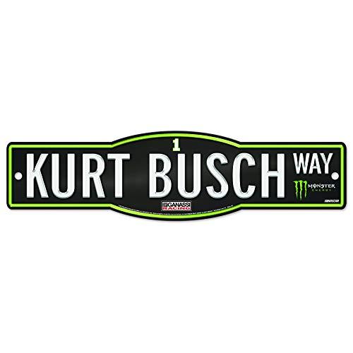 WinCraft Kurt Busch # 1 Street Sign 4
