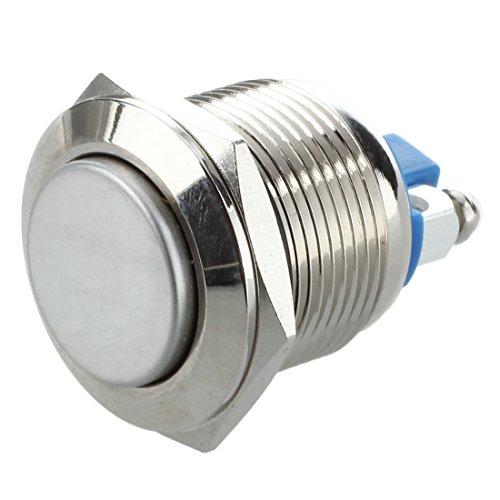 Vasko - Botón pulsador eléctrico para coche (12 V, 19 mm)