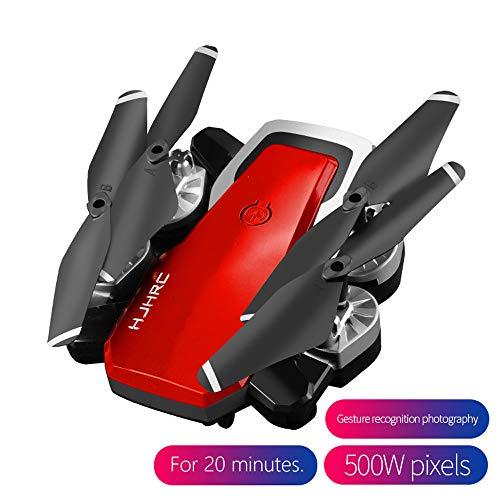 ASHOP Drohne, HJ28 5.0MP 1080P Kamera WiFi FPV Faltbare 6-Achsen Gyro RC Quadcopter Drone (Rot, One Size)