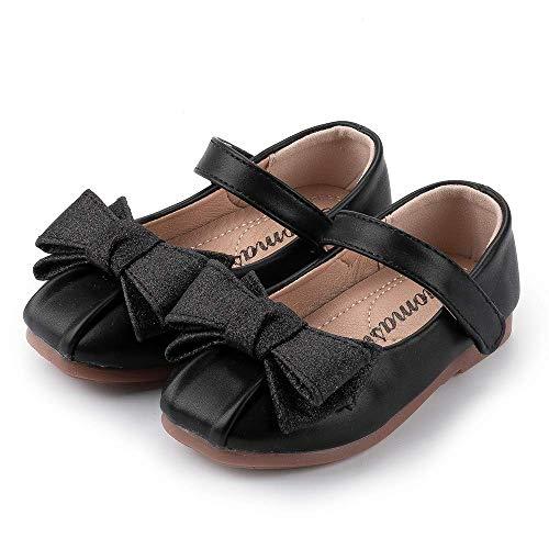 Babycute - Zapatos de Ballet para niña con Purpurina, Bailarina Mary Jane Flower Princess, para Vestido de Novia (niño/niño pequeño)