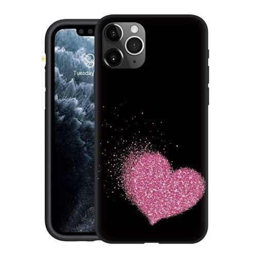 Yoedge Funda Compatible con Huawei Honor Play 5T Youth (4G) 6,6',Ultra Slim Cárcasa Silicona Negro con Moda Dibujos Diseño,Suave Antigolpes TPU Proteccion Case Cover para Honor Play 5T Lite,Caring 1