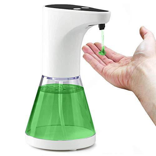 Gen Dispenser Sapone Automatico Liquido per Mani Sensore Infrarossi Elettrico No Touch Bagno Cucina Lavello X Piantana Colonnina Scrivania No Schiuma Design