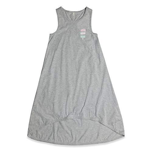 ESPRIT KIDS Mädchen Knit Dress Kleid, Silber (Heather Silver 223), 170 (Herstellergröße: XL)