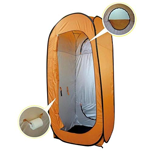 lā Vestmon Privacy Tent, Outdoor Camp Tent Pop Up Pod Privacy Shower Tent Instant Portable Fast-opening Tent Vertical Horizontal Rain Shelter for Outdoor Camping