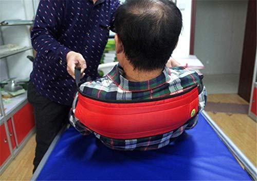 Eight Horses-S Levántate Auxiliar, cinturón de Ayuda para la Rodilla de la Pierna, cinturón de Transferencia de Turno de enfermería para hemiplejía para discapacitados y Ancianos,L