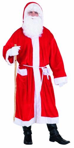 PARTY DISCOUNT ® Weihnachtsmannmantel, rot unisize, preiswert