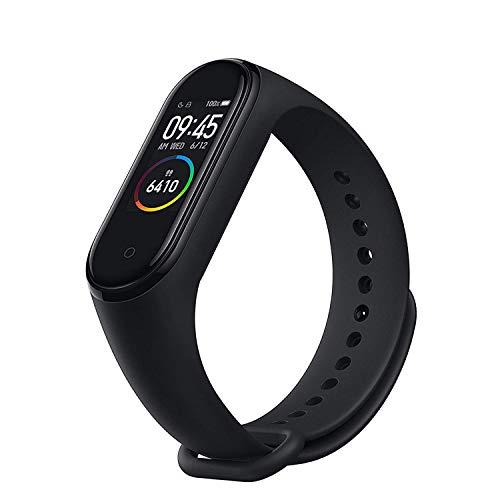 Mi Band 4 Herzfrequenz-Armband, Bluetooth 5.0, zum Musikhören beim Sport, Schrittzähler, globale Version