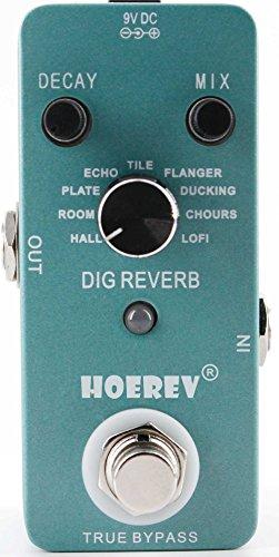 Hoerev Gitarren Effekte Digitaler Reverb mit digitalen Reverb-Effekten