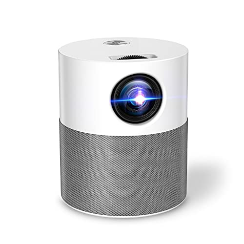 """Proyector WiFi Bluetooth Full HD Nativo 1080P, Mini Proyector 250"""" 6000 Lúmenes,Proyector Video Compatible con TV Stick HDMI para Cine Casero y Películas al Aire Libre."""
