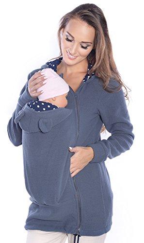 Mija Arts 3073A - Giacca in pile da usare con fascia porta bebè 50
