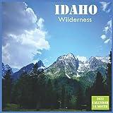 Idaho Wilderness Calendar 2022: Official US State Idaho Calendar 2022, 16 Month Calendar 2022