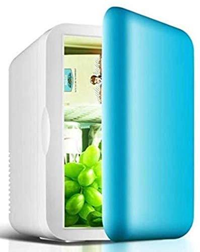 Mini nevera, 6L pequeño refrigerador, mini dormitorio del hogar del coche de refrigerador, AC/DC Powered termoeléctrica sistema del refrigerador 1yess