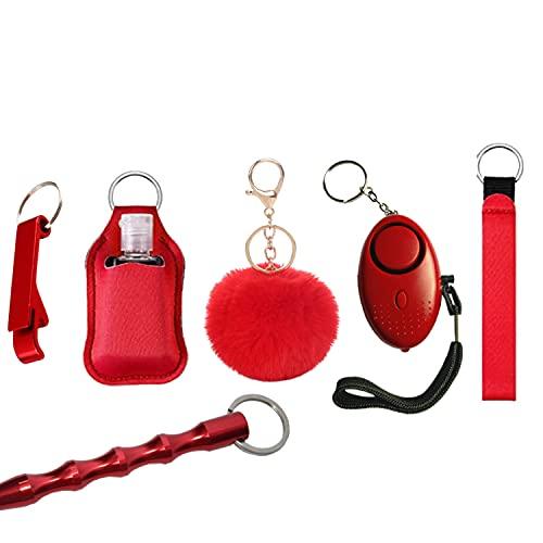 Self Defense Keychain for Women Emergency Keychain Car Escape Tool Portable Car Safety Hammer Life Saving Survival Kit
