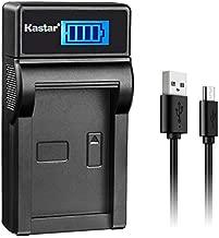 Kastar LCD Slim USB Charger for Olympus LI-50B Li50B and SZ-10 SZ-12 SZ-15 SZ-16 HIS Sz-20 SZ-30MR SZ31MR iHS TG-610 TG-630 HIS TG-810 TG-820 TG-830 TG-860 HIS XZ-1 XZ-16 iHS SP-810UZ