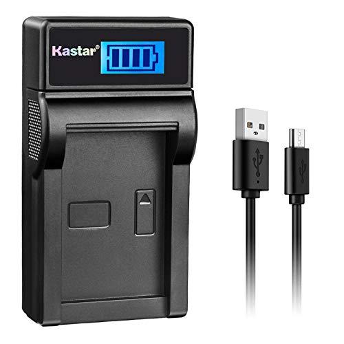 Kastar LCD Slim USB Charger for Canon NB-13L, NB13L and Canon PowerShot G5 X, Canon PowerShot G7 X, Canon PowerShot G9 X, Canon SX620 HS, Canon SX720 HS Digital Camera -  CH-LCD1-NB13L