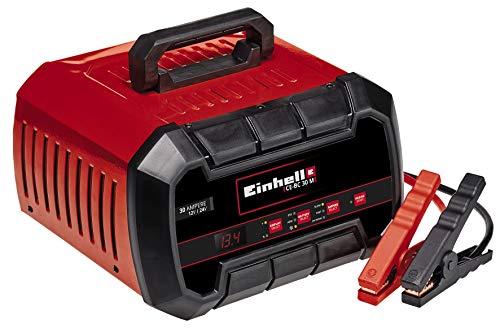 Einhell Batterie-Ladegerät CE-BC 30 M (für Gel-, AGM-, wartungsfreie/-arme Blei-Säure-Batterien, 12V/24V, mehrstufiger Ladezyklus, mikroprozessorgesteuert und -überwacht)