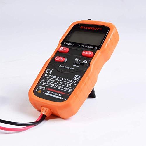 HYY-YY Multímetro digital portátil automático de alta precisión universal multímetro eléctrico