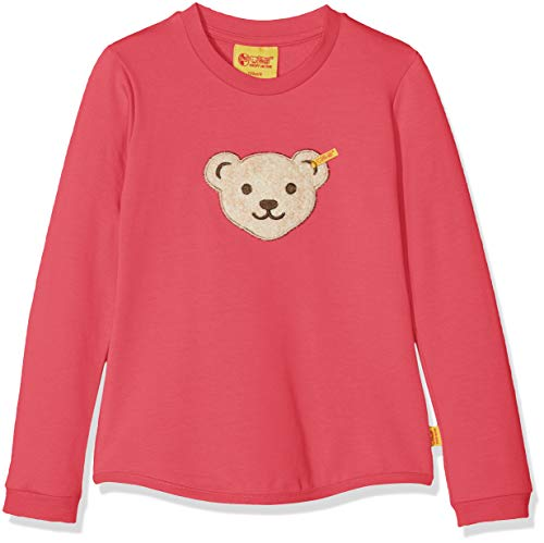 Steiff Mädchen 1/1 Arm Sweatshirt, Rosa (Fruit Dove 2203), (Herstellergröße:116)