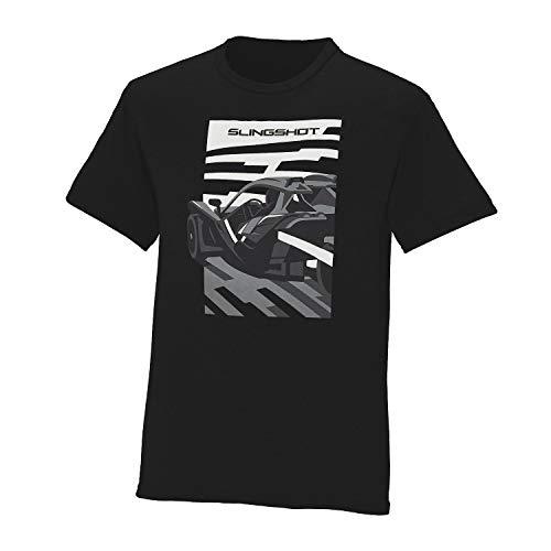 Polaris Slingshot Men's Short-Sleeve Views T-Shirt, Black - L