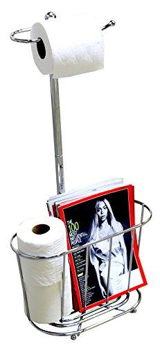 Top 10 best selling list for magazine rack toilet paper holder combo