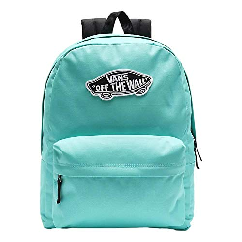 Vans Realm Backpack Mochila Mujer Tipo Casual, 42cm, 22L, Waterfall