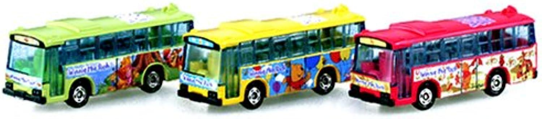 Wrapping bus set Pooh Bear Tomica (japan import) B0007URR90 Schön geformt      Um Eine Hohe Bewunderung Gewinnen Und Ist Weit Verbreitet Trusted In-und
