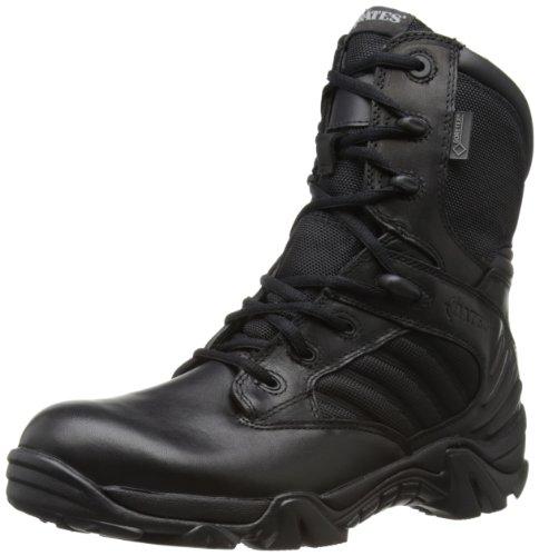 Bates Gx-8 Ultralites, Botas de cuero para hombre, Negro (Black), 41 EU (7 UK)