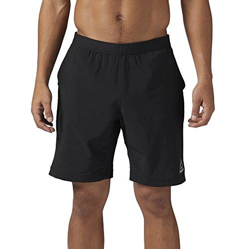 Reebok Men's Speedwick Speed Workout Shorts, Black, Small
