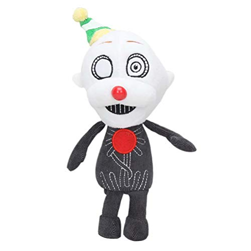 Five Nights At Freddy's Plush Doll Funtime Foxy Blacklight Cupcake Ballora Mangle Lolbit Lefty El Chip Yellow Chica Angry Bonnie Fans Collection Character Stuffed Plush Doll Toys for Kids,20cm