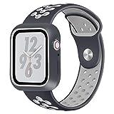 HZNYYY Le Sport Bracelet Compatible avec Apple Montre Série 4, Deux Couleurs...