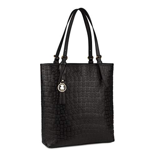 TOUS Shopping Sherton de Piel en color negro