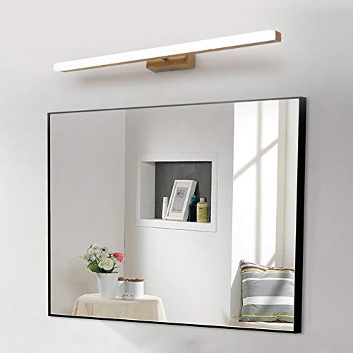 WJH Nordic spiegellamp, voor badkamer, waterdicht, anti-condens, moderne wandlamp, milieuvriendelijk, spiegellicht