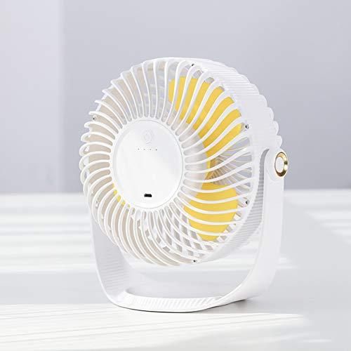 Desk Fan, Kleine Tafelventilator Met Een Sterke Luchtstroom Ultra Stil Portable Fan Speed Verstelbare Hoofdsteun 360 ° Draaibare Mini Personal Fan