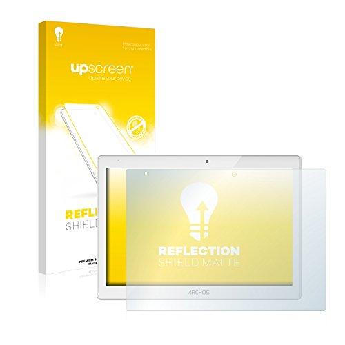 upscreen Entspiegelungs-Schutzfolie kompatibel mit Archos 101b Platinum – Anti-Reflex Displayschutz-Folie Matt