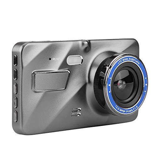 Dubbele lens, 7 inch 1080 P HD Auto DVR Dual Lens Camera R?¡ì1ck Mirror Video Recorder Night Vision Stream Media Lens Mirror Full Touchscreen HDR R R R, C