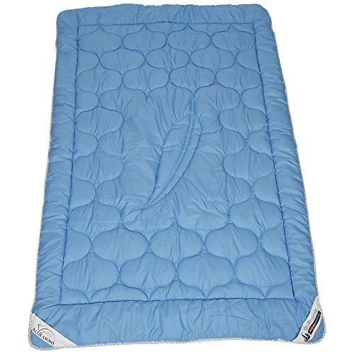 Stoffhanse Steppdecke blau 135x200cm   Bettwaren   Bettdecke   nach Öko-Tex Standard