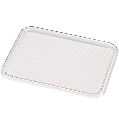 Akebono industry non-Skid Magic Tray% ¶ Ýï% Square–Medium–303~ 225mm Trasparente/Bianco (mt-1020)