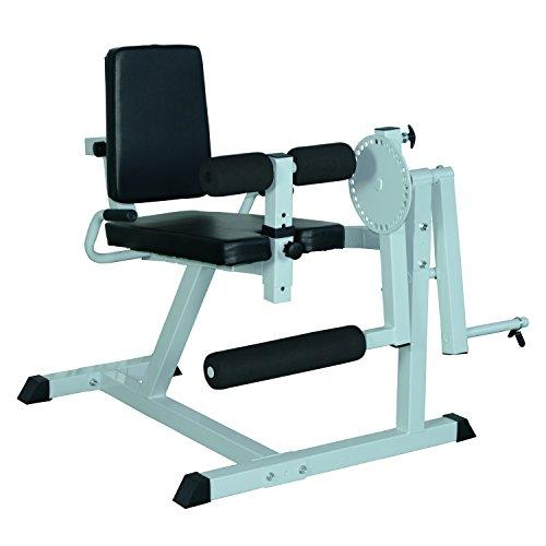 homcom Panca Allenamento Regolabile, Roman Chair, Attrezzo Workout Gambe per Palestra/Casa,...