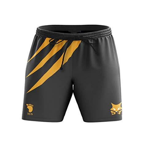XLUIN Anime Colleges Printed 3D Bleach Shorts Cosplay Hombres Natación Troncos de Secado rápido Casual Short Running Gym Shorts-A3_S