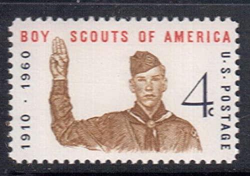 FGNDGEQN Colección de Sellos Estados Unidos 1960 EE.UU. Hijo Hijo 50 Aniversario Sello 1
